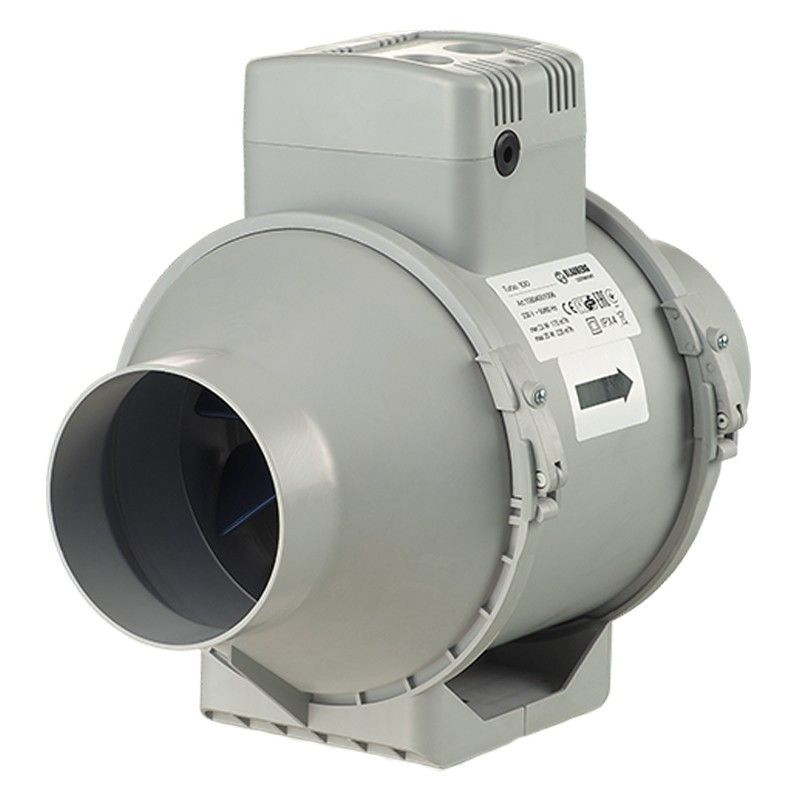 Extractor Turbo 100mm 187m3/h