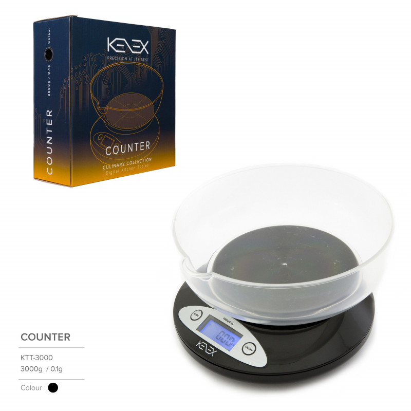 BASCULA KENEX COUNTER (5000g X 1.0g)