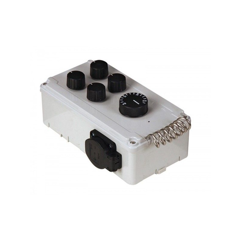 Fan controller con termostato doble DV-11-T-2