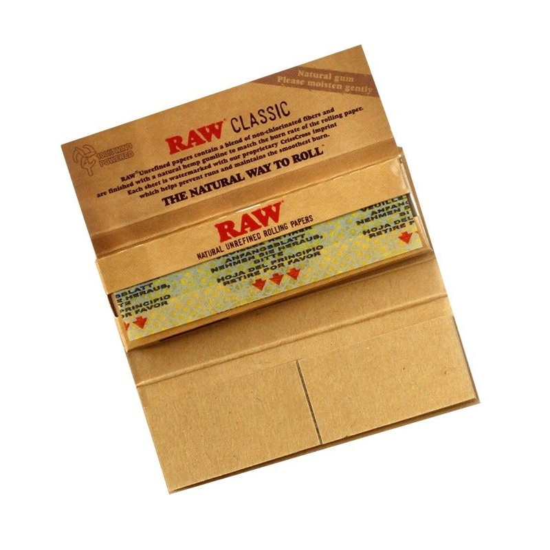 Librillo de papel Raw Classic Connoisseur Single Wide